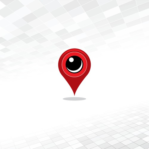 Geometric logo for social media.