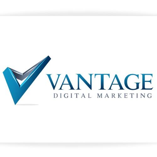 Vantage Digital Marketing needs a new logo and business card