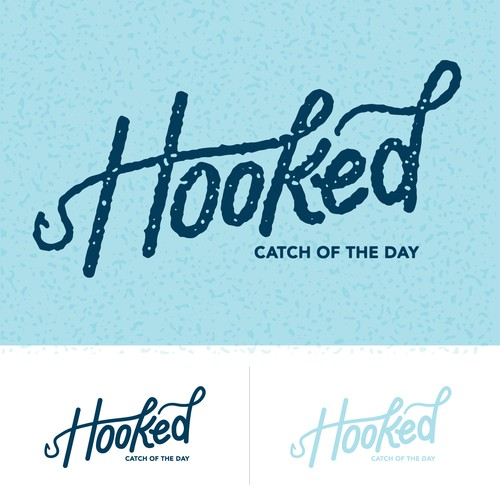 Hooked Restaurant Logo