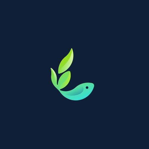Aquaponics Agriculture logo
