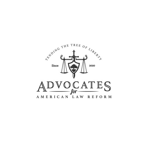logo concept for advocates