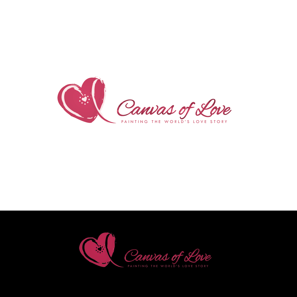 logo for Canvas of Love