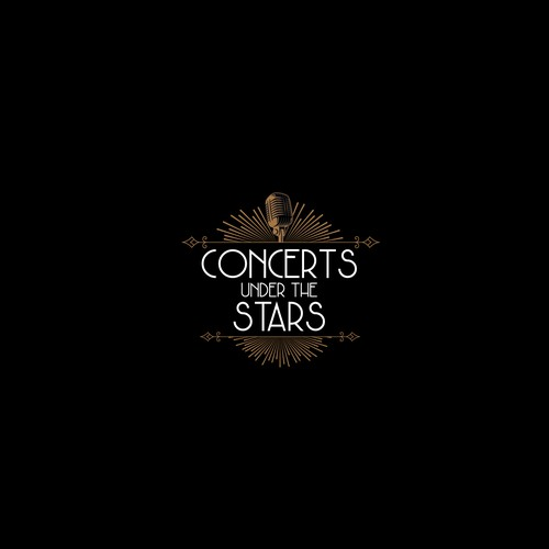 Logo for a musical concert