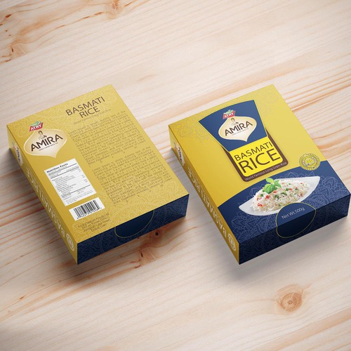 Rice Box Packaging