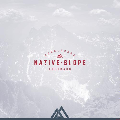 Native Slope Logo design