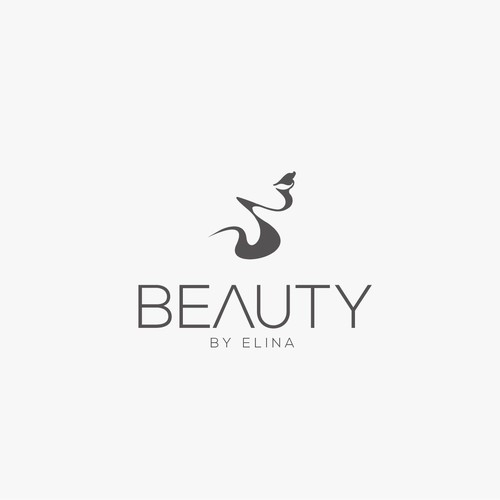 Clean logo design for a Makeup artist