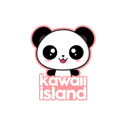 Kawaii Panda Logo