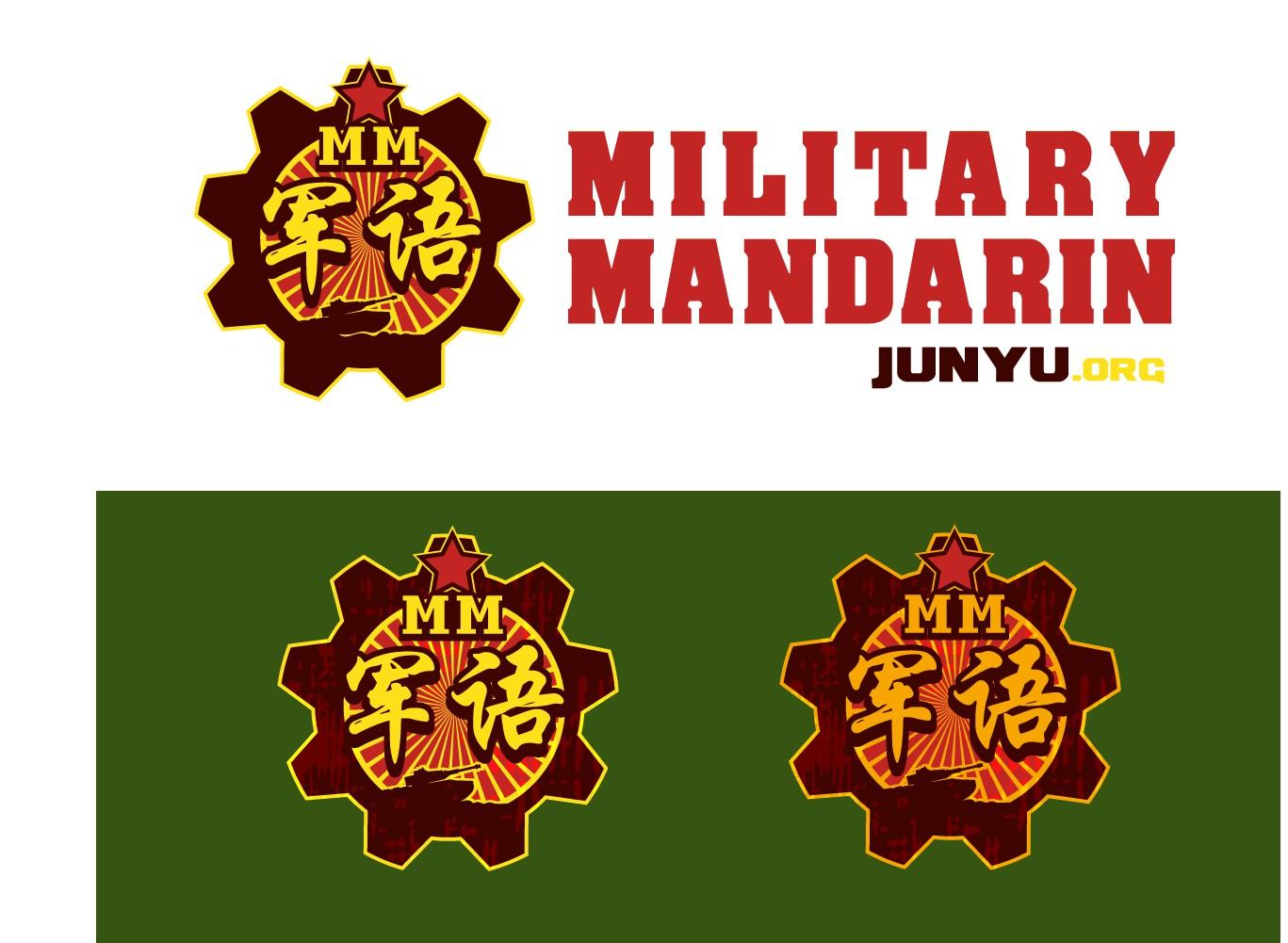 Brand Reboot for Military Mandarin, thinking Retro Propaganda
