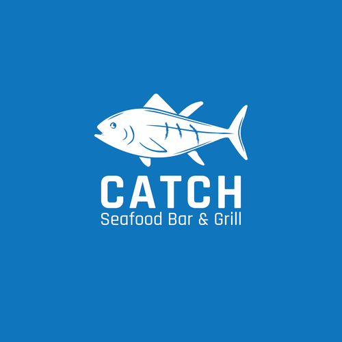 Logo for CATCH, a seafood & grill restaurant