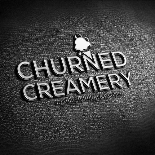 Churned Creamery - freshly churning ice cream right in front of the customer.