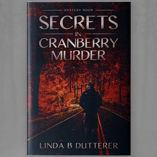 Secrets in Cranberry Murder_Mystery book cover Design