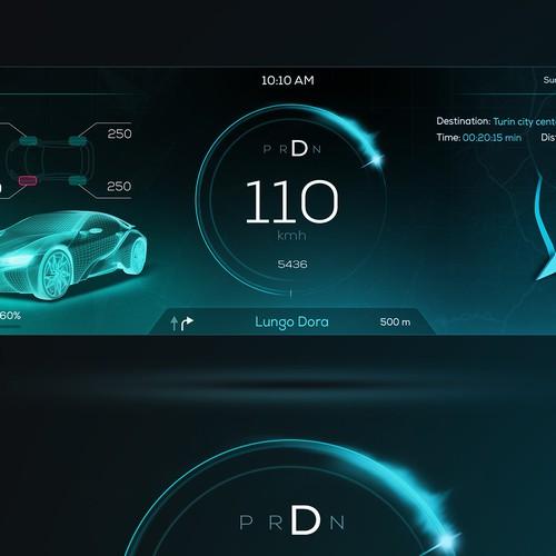 HMI - Car Instrument - Concept