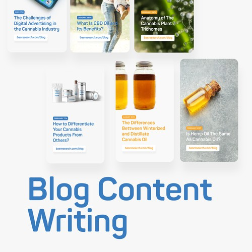 Blog Content Writing - SEO / Keyword Research / 1000+ Words