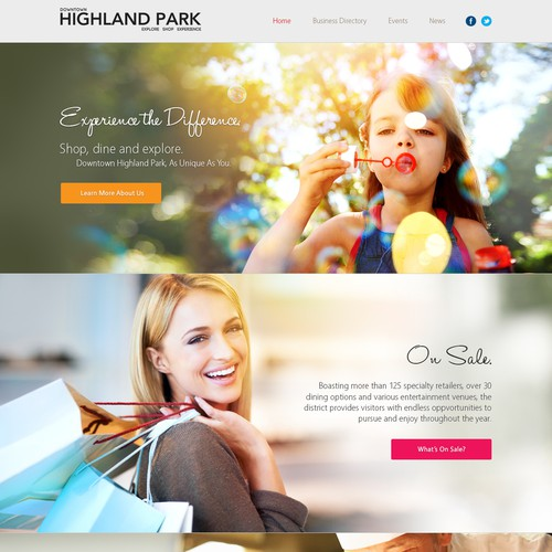 Downtown Highland Park- the destination to Explore, Shop, Experience