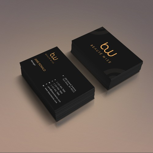 Business card for Beauty Industry