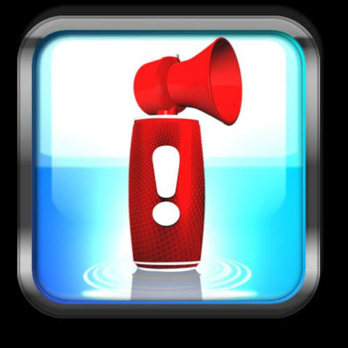 Air Horn needs a new button or icon