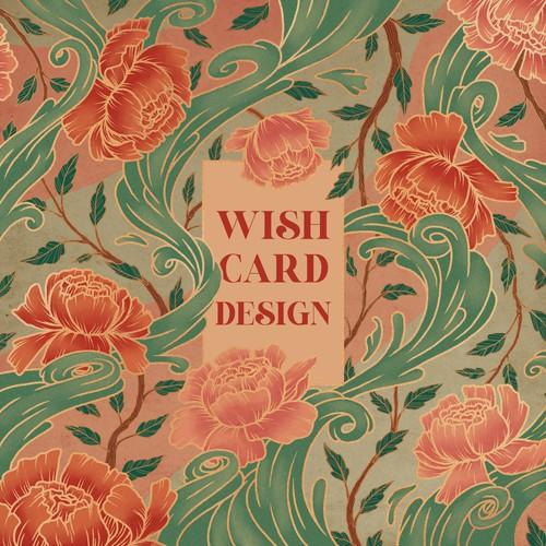 Wish card design
