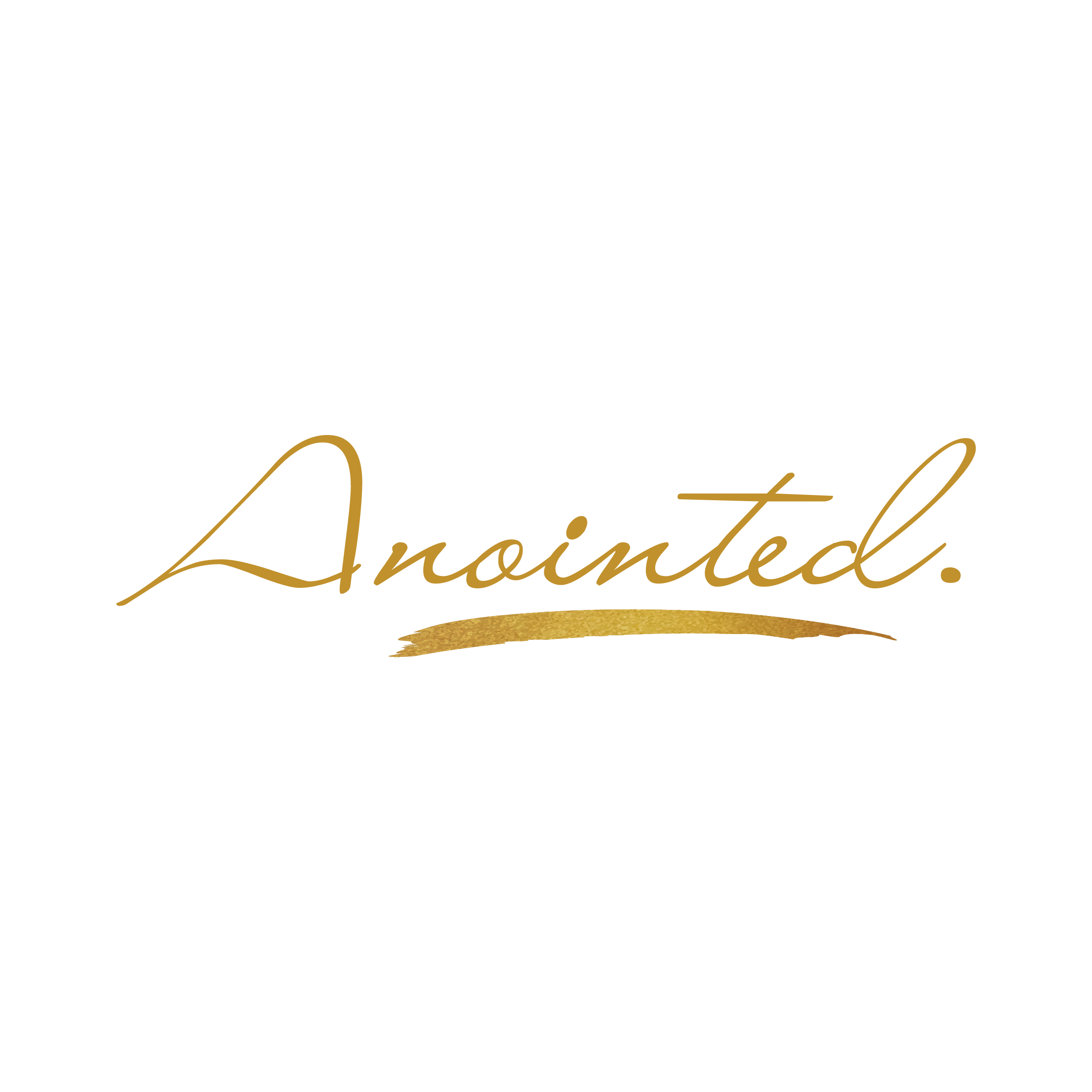 """Design a unique, bold, luxurious logo for a new nail polish brand """"Anointed."""""""