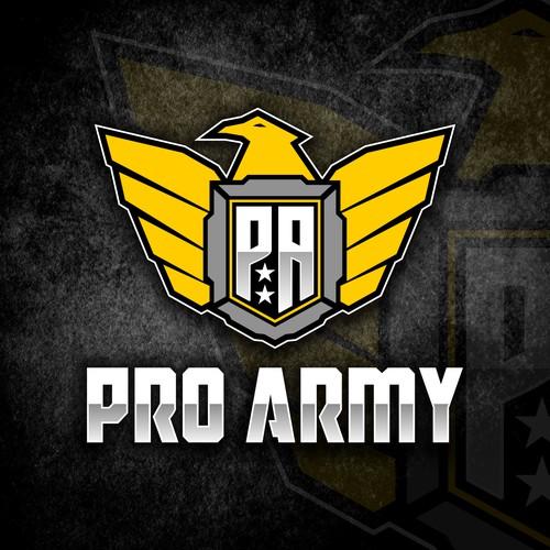 Pro Army mencari logo untuk toko dan situs web