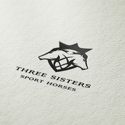 Logo for Three Sisters Sport Horses
