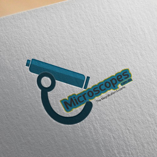 Microscopes.com.au ---------------------------------GUARANTEED Logo Design