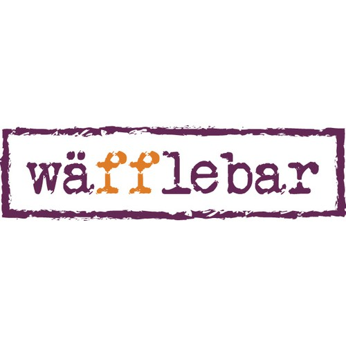 Create the next logo for Waffle Bar