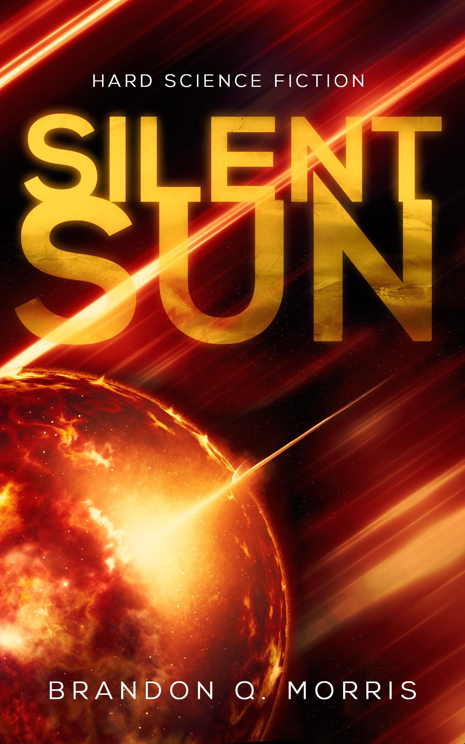 Cover for hard science fiction novel