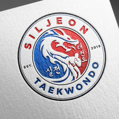 Logo Design for Siljeon Taekwondo