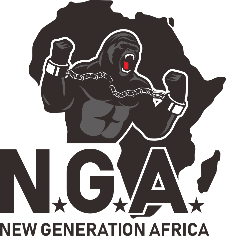 create a logo for N.G.A (new generation africa) that immediately catches the eye !!!