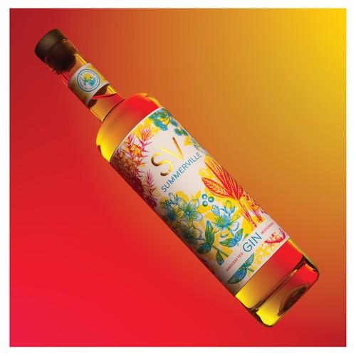 Summerville Mediterranean Gin