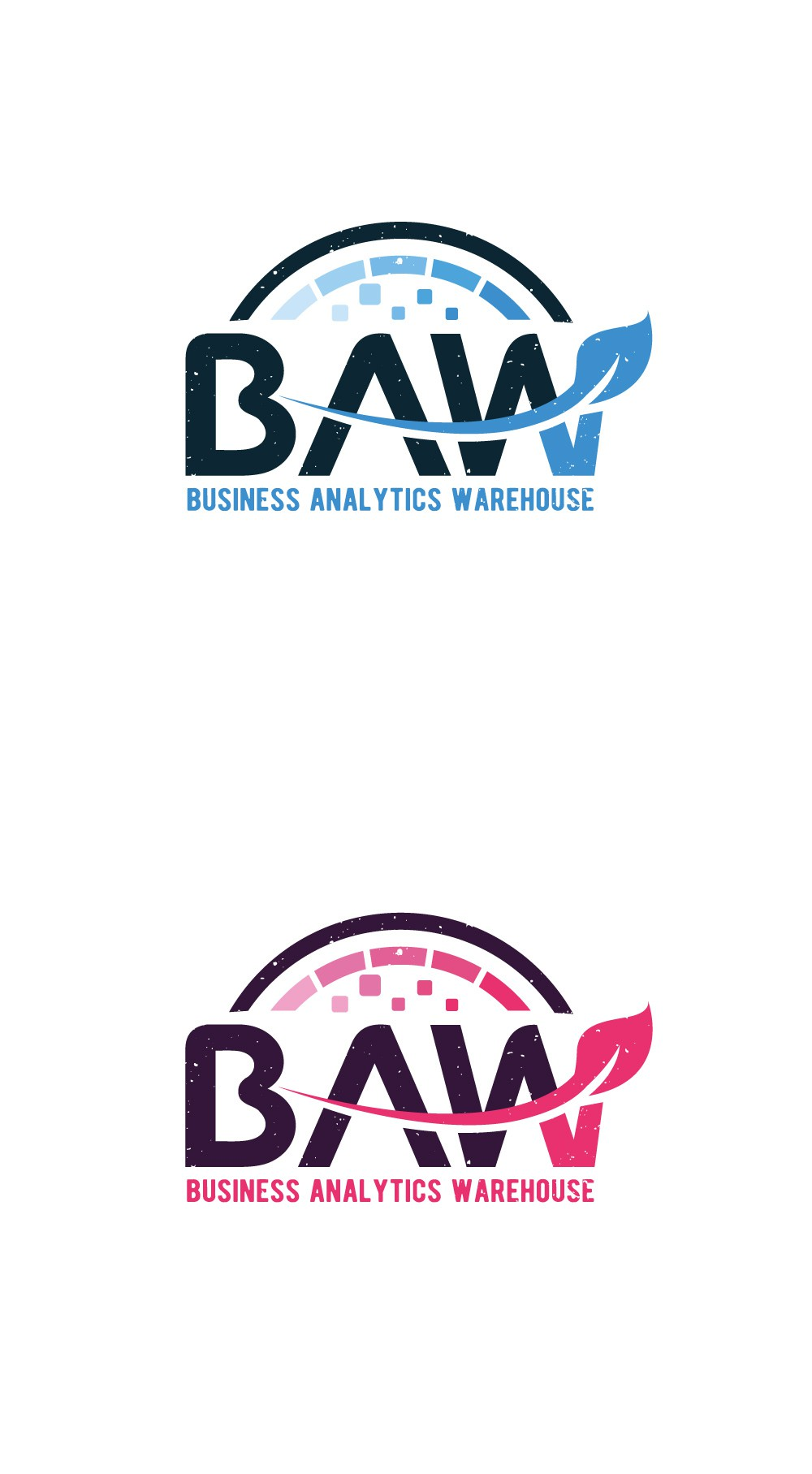 create a striking logo for our business analytics warehouse
