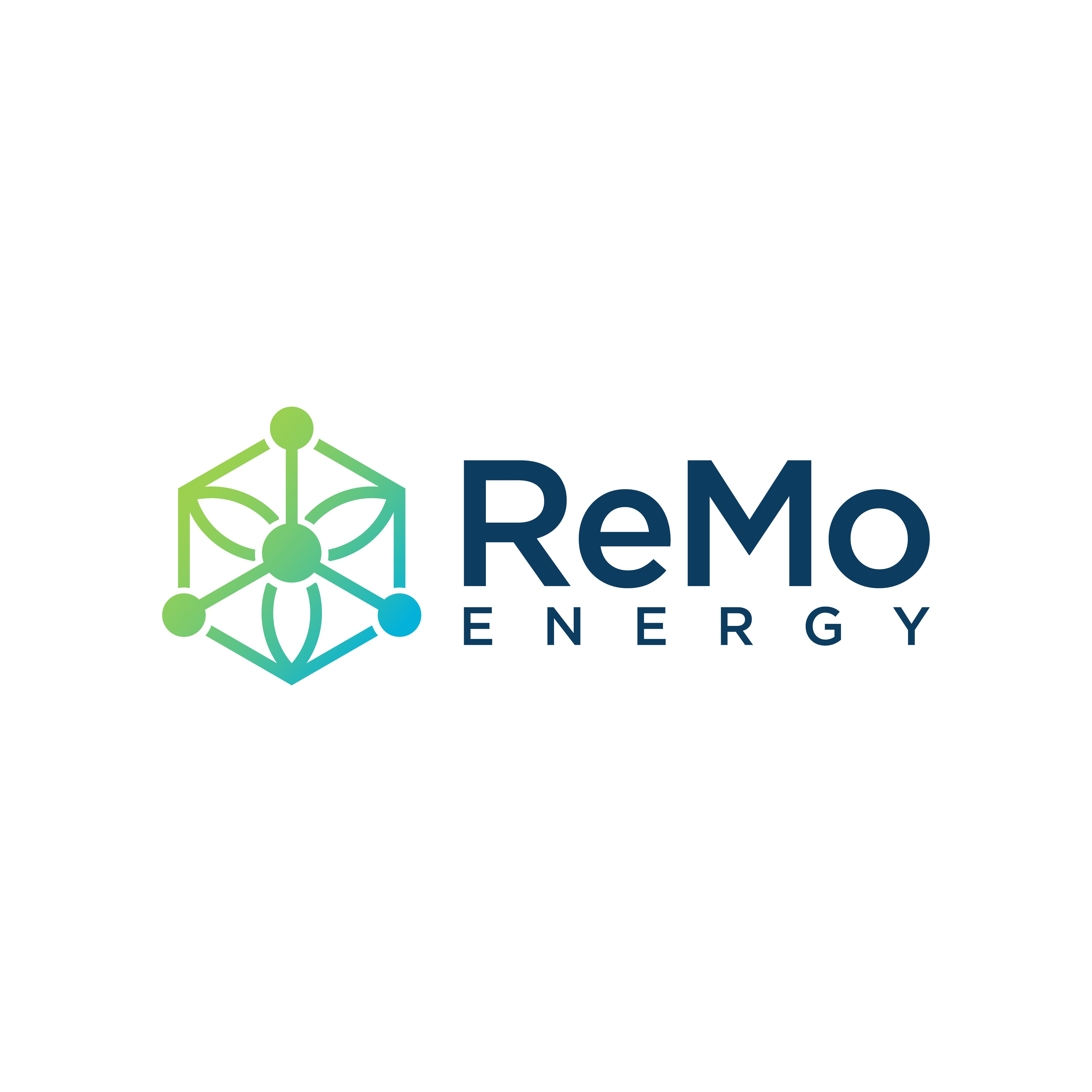 Logo for a new phase of renewable energy - making renewable molecules (ReMo)