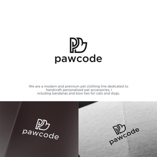 logo pawcode