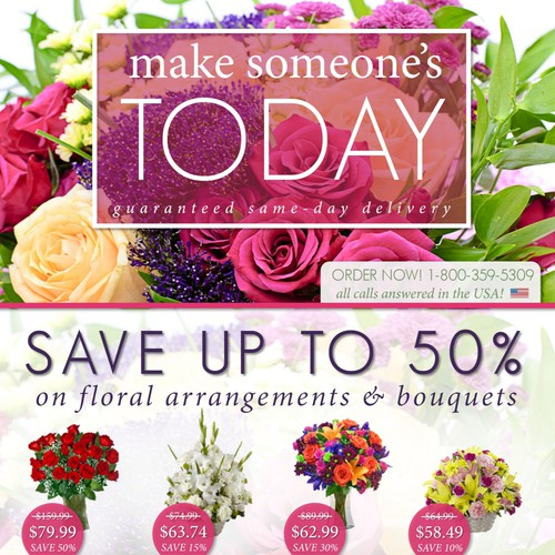 Blooms Today Yellow Pages Ad
