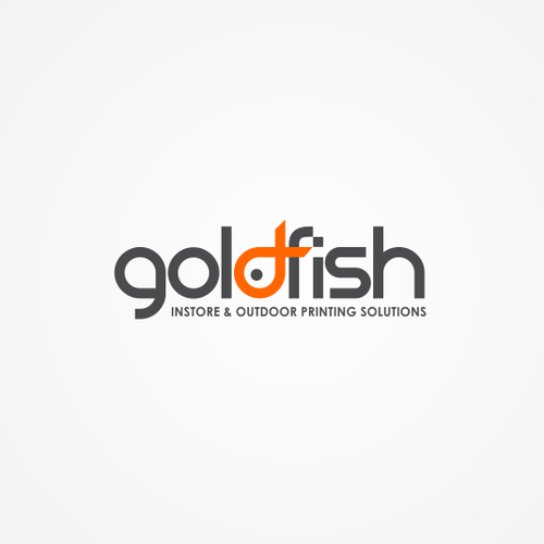 Help goldfish with a new logo