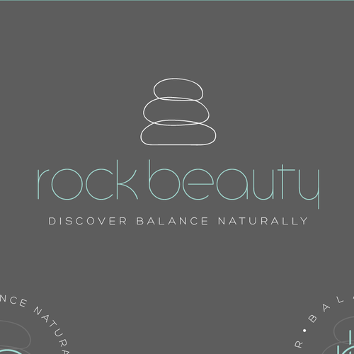 A sleek and elegant logo design for skincare and spa company