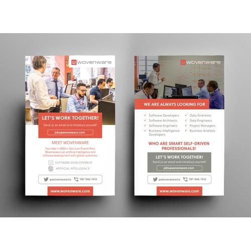 Wovenware Recruiting Flyer