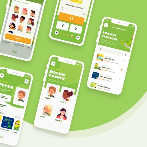 Kids Radio App