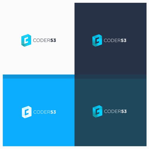 logo for coder 53