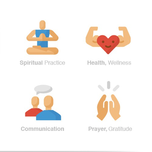 Icons For Health Journal