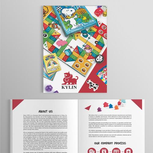 Catalog design for Kylin Manufactory