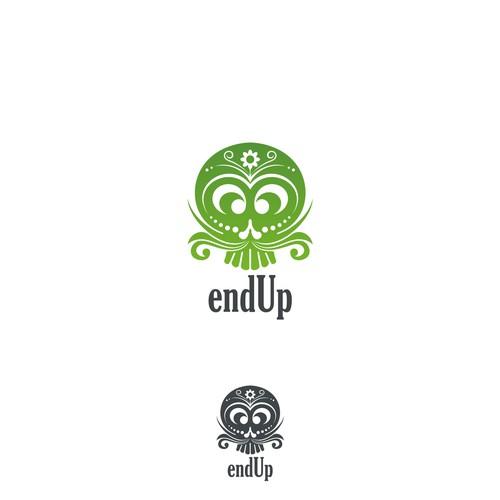 winner logo of endUp