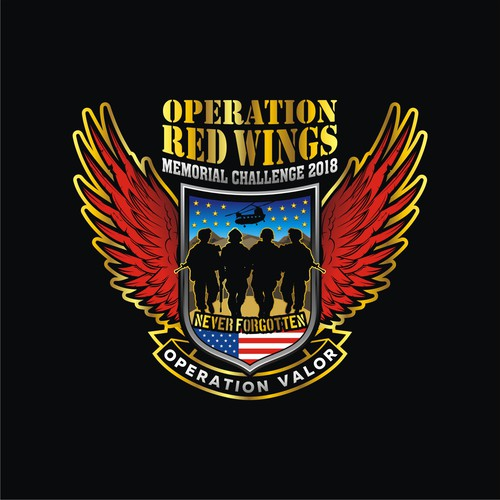 Army Logo - OPERATION RED WINGS Memorial Challenge 2018