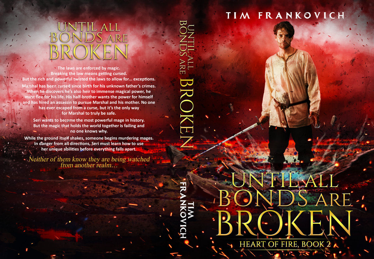 Cover for second book in a series