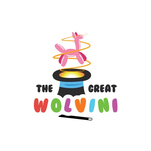 Fun Logo for The Great Wolvini