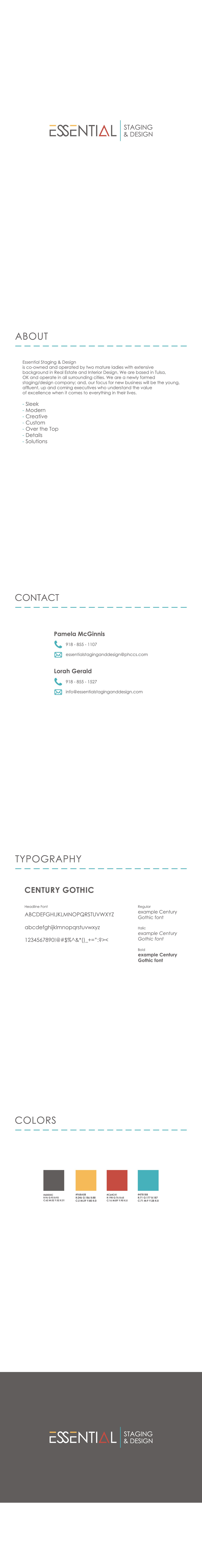 Essential Staging & Design seeks sleek, modern, elegant and fun all in one! ...