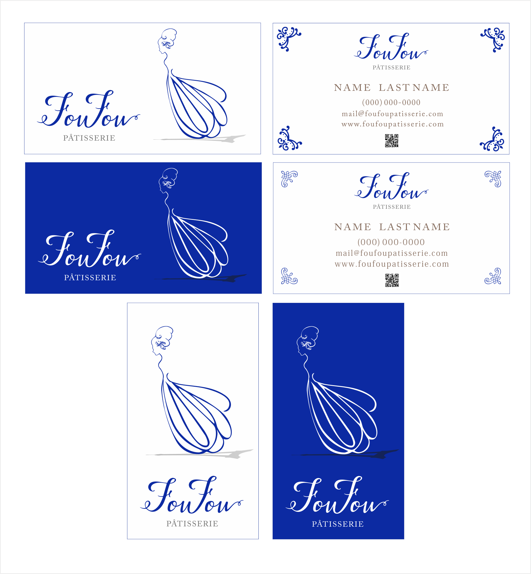 SOS: creative & elegant logo for luxury French Pastry brand