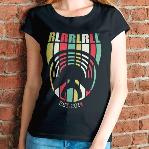 T shirt design for RLRRLRLL
