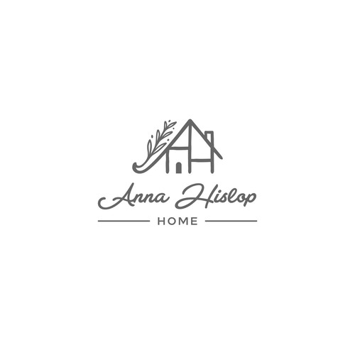 Logo concept for Anna Hislop Home