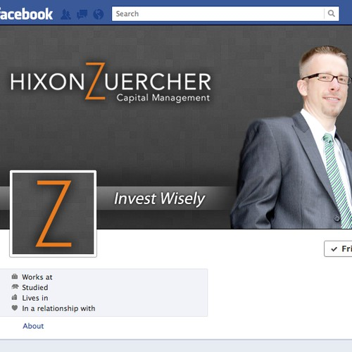 Help Hixon Zuercher Capital Management with a new social media page